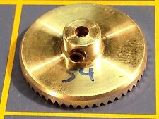 Sonic 3/32 axle 64 Pitch 54 Tooth Aluminum Drag Crown Gear Mid America Raceway