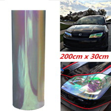 "12""x78"" Chameleon Neo Clear Autos Headlight Taillight Fog Light Vinyl Tint Film"
