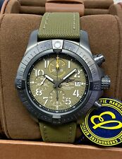Breitling Avenger Chronograph 45mm Green Dial V13317 2020 With Papers UNWORN