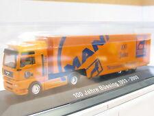 "Herpa PC-Modell MAN TGA 18.460 Koffersattelzug ""100 Jahre Büssing"" OVP (U9448)"