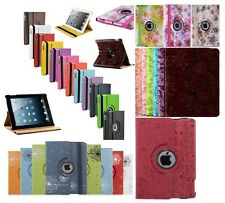 360 Degree Rotating PU Leather Case Cover Swivel Stand For Apple iPad Air/5