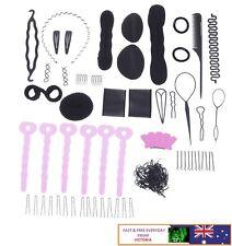 20Pcs Set Styling Clip Bun Maker Hair Twist Braid Ponytail Tool Accessories -#A1