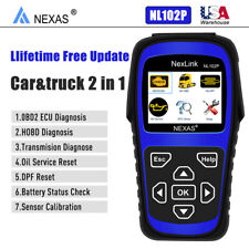 NEXAS NL102P Diesel Heavy Duty Truck Car Diagnostic Scanner DPF Regen Oil Reset