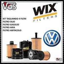 KIT TAGLIANDO 4 FILTRI WIX PER VW GOLF 5 V SERIE 1.9 TDI