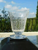 Vase en cristal  BACCARAT modèle Michel Ange 17,5 cm