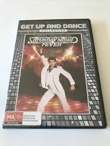 Saturday Night Fever DVD John Travolta - Get Up And Dance Collection