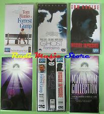 box 3 VHS film MILLENNIUM COLLECTION Forrest gump Ghost PARAMOUNT (F143) no dvd