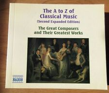 Book of The A to Z of Classical Music (2nd Expanded Edition) + CD 1 Bonus