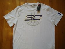 Nwt Under Armour Shirt Sc30 Stephen Curry Loose Fit White Mens Xlarge Xl