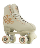 Rio Roller Skates Rose Quad Derby Skates, Rose Cream
