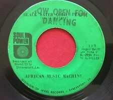 AFRICAN MUSIC MACHINE ~ MAKING NASSAU FRUIT DRINK / BLACK WATER ~ SOUL 45