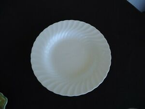 wedgwood white candlelight rimmed soup bowl