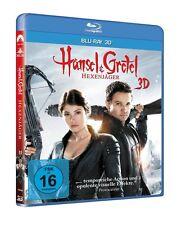 3D Blu-ray * HÄNSEL UND GRETEL : HEXENJÄGER 3 D  # NEU OVP +