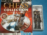 Eaglemoss Marvel Chess Collection Variation Listing: Chess Pieces With Magazines