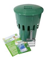 Good Boy Clean Green Dog Loo Poo Remover Waste Bin Pet Garden Toilet Hygienic