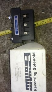 MUIR Reversing Solenoid R30-RS12V3P Solenoid box -Dual 12V DC 3 poles New in box