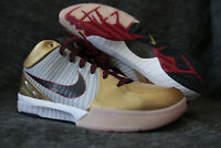 Nike Zoom Kobe IV 4 Gold Medal Olympic Edition size US 9 New Never Worn