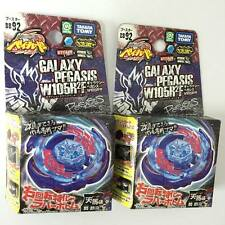 2pcs Metal Fight BeyBlade BB 92 Galaxy Pegasis W105R2F 100% Genuine Takara Tomy