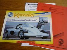 Dj-Dax Kamala Cortina basado en réplica Kit Car 'FOLLETO' cartera 1998