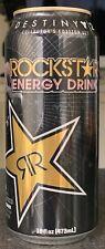 NEW ROCKSTAR ENERGY DRINK 16 FL OZ FULL CAN RARE DESTINY 2 FORSAKEN LORD SHAXX