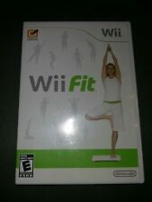 Wii Fit (Nintendo Wii, 2008) Complete case game and artwork complete and clean