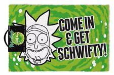 Rick and Morty (Get Schwifty) Doormat - 100% Coir Rubber Back Door Mat GP85191
