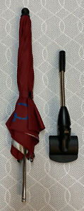Quinny Buzz / Moodd - Parasol With Clip - Red Rumour