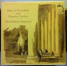 SYLVIA MARLOWE music of frescobaldi & scarlatti LP Mint- P 8336 Capitol USA 1960