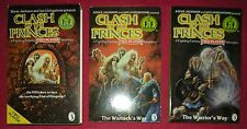Rare 1980s Clash Of The Princes Book Player Fighting Fantasy Game Puffin Box Set
