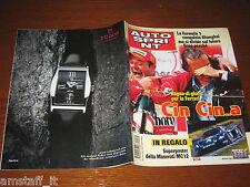 AUTOSPRINT 2004/39=GP F1 SHANGHAI=BARRICHELLO FERRARI=RALLY SARDEGNA=SINGER=