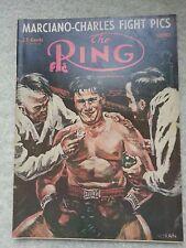 THE RING BOXING MAGAZINENOVEMBER 1954 ROCKY MARCIANO,CHARLES, COCKELL - RARE!!