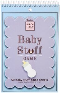 Baby Shower BABY STUFF Game Sheets - Darice - Brand New Sealed!!!