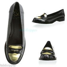 NEW 8.5 M Donald J Pliner DMSX Yev Penny Loafers Preppy Leather Flats Shoes DJP