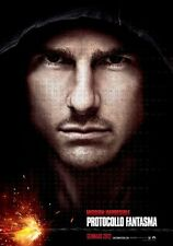 POSTER MISSION IMPOSSIBLE 2 3 4 GHOST PROTOCOL PROTOCOL GHOST TOM CRUISE #4