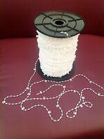 "100 Clips Of Vertical Blind Bottom Link Chain For 89mm 3.5"" Blinds"