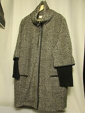 manteau Tofu bis women  ELEVENPARIS la collection taille L grey chiné