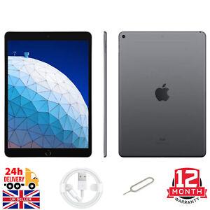 Apple iPad Air 3rd Generation 64GB/256GB Wi-Fi  (Unlocked), 10.5in - Silver/Grey