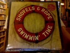 Shovels and Rope Swimmin' Time 2xLP sealed 180 gm clear vinyl + CD