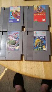 Lot Of 4 Nintendo NES Games