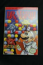 Dr. Mario Nintendo NES 1990 Brand New Factory Sealed w/Box Protector! Free S&H!