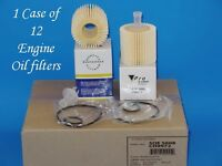 Case 12 Engine Oil Filter With Set of Gaskets Made In Korea Fits Lexus Toyota