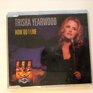 "CD TRISHA YEARWOOD ""How Do I Live"" Maxi"