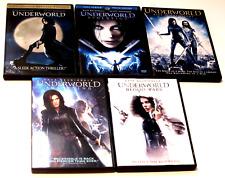 Underworld Movie Series: Evolution, Rise of the Lycans, Awakening, Blood Wars