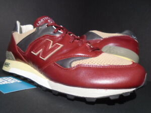 NEW BALANCE LM577RB 577 LIMITED EDITION ENGLAND RED GREEN OFF WHITE BEIGE 13