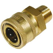 """General Pump D10004 - 3/8"""" Quick Coupler (Q/C) X M22 Male NPT - Brass"""