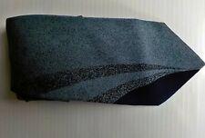 BALENCIAGA Paris 100% Silk Necktie Made in Italy Shades of Blue