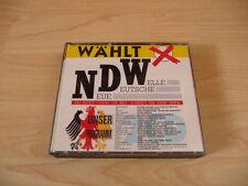 Doppio CD elegge NDW: Ixi Markus Baetens. Menke DAF Trio Hubert Kah Nina Hagen Falco