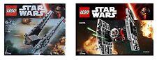 LEGO Star Wars Episode 7 30276 Erste Ordnung Tie Jäger + Kylo Ren's Fähre 30279