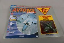Zf1533 Atlas 1/100 Avion Metal de Combat M1235 Spitfire Mk-vb Magazine