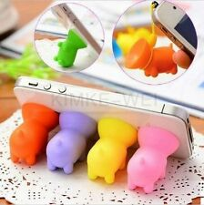 9 x Piglet Silicone Suction Cup Holder Sucker Stand for Mobile Phones